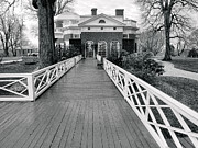 Monotone Prints - Monticello III Print by Steven Ainsworth