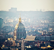 French Culture Metal Prints - Montmartre Sacre Coeur Metal Print by By Corsu sur FLICKR