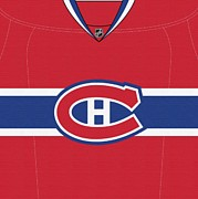 Montreal Canadiens Originals - Montreal Canadiens Jersey Dark by Game On Images