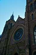 Montreal Streets Acrylic Prints - Montreal Church Acrylic Print by Mike Horvath