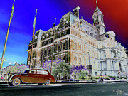 Old Montreal Digital Art - Montreal City Hall by Renata Ferenc