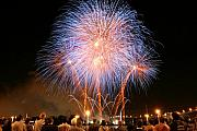 Montreal Fireworks Celebration  Print by Pierre Leclerc Photography