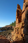 Monument Cove - Acadia Print by Stephen Vecchiotti