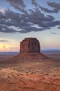 Monument Valley - Merrick Butte Print by Saija  Lehtonen