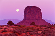 Color Purple Posters - Monument Valley, Arizona, Usa Poster by Radius Images