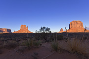 Monument Valley Framed Prints - Monument Valley Framed Print by Mike Herdering