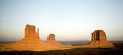 Formation Prints - Monument Valley Navajo Tribal Park Sunset Print by Bryant Scannell
