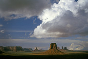 Navajo Lands Posters - Monument Valley Storm Clouds Poster by Paul W Faust -  Impressions of Light