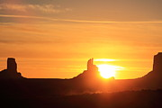 Navaho Framed Prints - Monument Valley Sunrise Framed Print by Viktor Savchenko