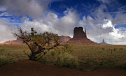 Desert Digital Art - Monument Valley Vista by Ellen Lacey