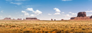 (c) 2010 Photo Prints - Monument Valley Wide Angle Print by Ryan Kelly