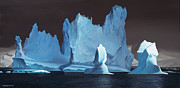 Moody Paintings - Monuments of Ice by Cliff Wassmann