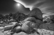 Monzogranite Inclusions Print by Gary Zuercher