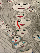 Moods Print by HollyWood Creation By linda zanini