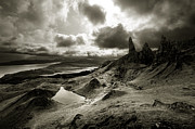 Highlands Of Scotland Prints - Moody Isle of Skye Print by Matt Tilghman