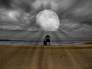 Moon Beams Print by Ms Judi