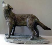 Animal Sculpture Originals - Moon Glow by Gary Stull