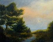Jan Blencowe Paintings - Moon Glow by Jan Blencowe