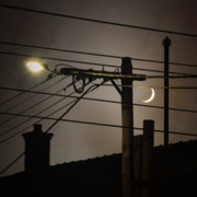 Urban Art Photos - Moon-light by Anthony Mancuso