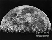 Craters Prints - Moon Print by Mount Wilson and Palomar Observatories