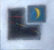 Moon Print by Nikolai Rusev