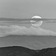 Mountains Art - Moon by Photographed by Jorge Santos