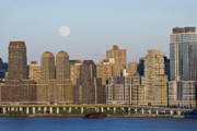 Andrew Kazmierski - Moon Rise Over Manhattan