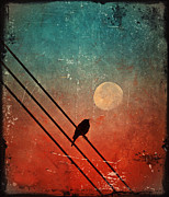 Powerline Prints - Moon Talk Print by Tara Turner