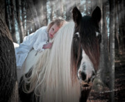 Storybook Prints - Moonbeams Print by Terry Kirkland Cook