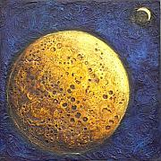 Moon Reliefs - Moonface by Linda Carmel