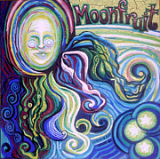 Commissions Paintings - Moonfruit by Genevieve Esson