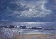 Moonglow Prints - Moonglow Print by Joan Cornish Willies