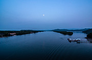 Moonlit Night Photos - Moonlight at Meangkabong River by Kenneth Lee