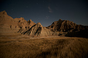 Dakotas Framed Prints - Moonlight Framed Print by Chris Brewington 