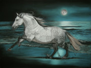 Running Pastels - Moonlight Dancer by Sabine Lackner