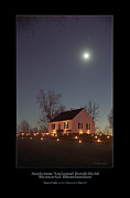 Memorial Illumination Framed Prints - Moonlight over Dunker Church 96 Framed Print by Judi Quelland