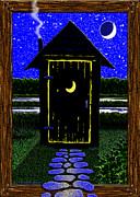 Cristopher Ernest Prints - Moonlight Stroll Print by Cristophers Dream Artistry