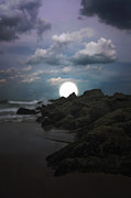 Book Cover Art Metal Prints - Moonlight Tonight Metal Print by Tom York