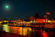 Brenda Gutierrez Moreno - Moonlit Dinner Dockside