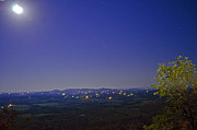 Jeka World Photography Prints - Moonlit Ozark Landscape Print by Jeka World Photography