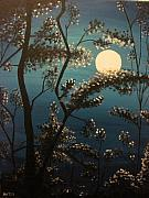 Ashley Warbritton - Moonlit Trees