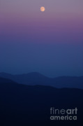 Accomplishment Prints - Moonrise - Mount Washington New Hampshire  Print by Erin Paul Donovan