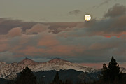 Bob Berwyn Metal Prints - Moonrise Metal Print by Bob Berwyn