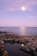Acadia National Park - Moonrise in Acadia National Park by Juergen Roth