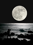 Moonrise Print by Paul Topp