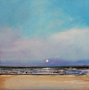 Picture Painting Originals - Moonrise by Toni Grote