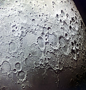 Moon Surface Prints - Moons Surface, Zond 7 Image Print by Ria Novosti