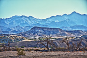 Scenic Drive Framed Prints - Moonscape at Death Valley Framed Print by Levin Rodriguez