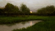 Paul Batch - Moonset in Late Spring