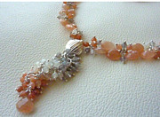 Peach Colored Originals - MoonShades Set - Focal Detail by Marta Eagle
